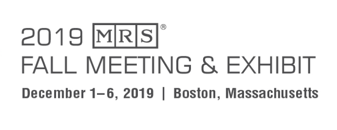 2019 MRS Fall Meeting